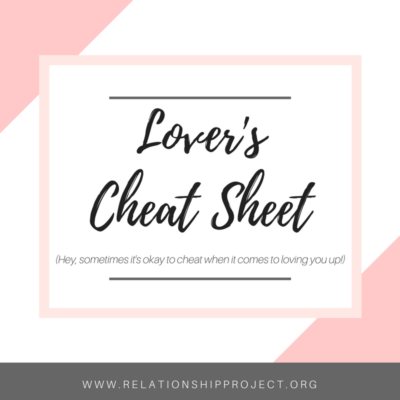 Lover's Cheat Sheet – Freebie