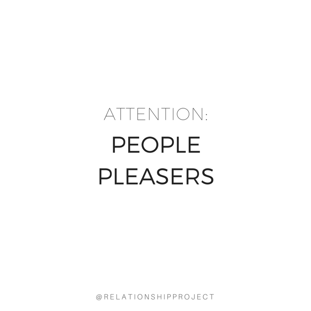 People Pleasers