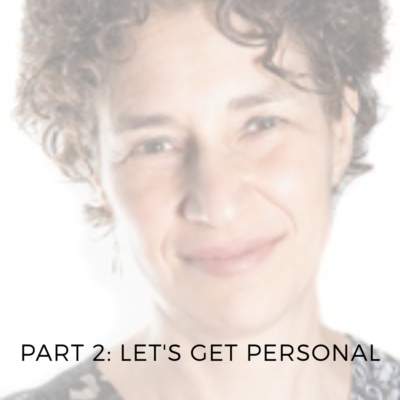 Spotlight Series 2: Let's Get Personal (With Tamara Adilman)